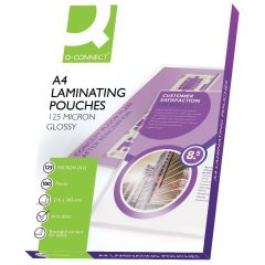 Laminating Pouch A4 250 micron Pack of 100