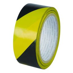 Yellow Black Hazard Tape (Pack of 6)