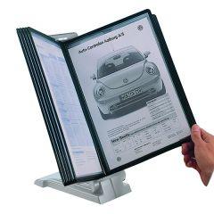 Q-Connect Light Grey Quick Finder Desk Top Unit
