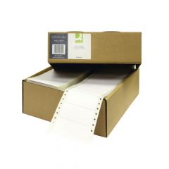 Computer Label 89x36mm 1 Across The Web 8 Per Fanfold White (8000 Pack)