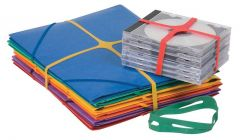 X-Band Rubber Bands 100gm 100x11mm Assorted Colours