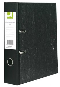 Lever Arch File A4 Paper-Backed Cloud Grey Box 10's