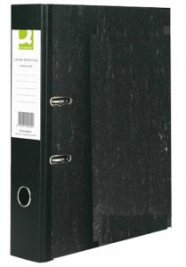 Lever Arch File Foolscap Paper-Backed Cloud Grey Box 10's