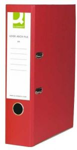 Lever Arch File A4 Polypropylene Red Box 10's