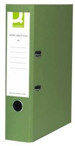 Lever Arch File Foolscap Paper-Backed Green Box 10's