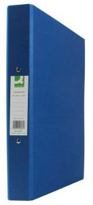 2-Ring Binder A4 25mm Paper-Backed Blue 10's