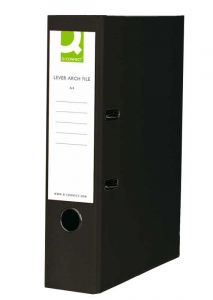 Lever Arch File A4 Paper-Backed Black Box 10's