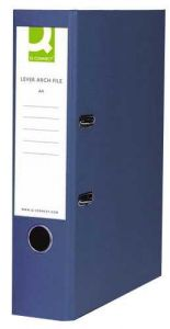 Lever Arch File A4 Paper-Backed Blue Box 10's