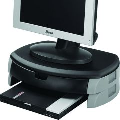 Monitor/Printer Stand/Drawer Black
