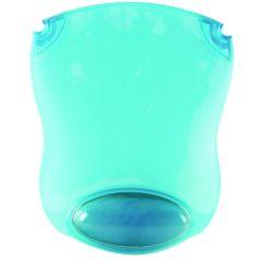 Clear Gel Mouse Mat Blue
