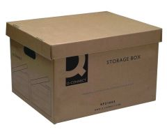 Archive Storage Box 335x400x250mm Boxed 10