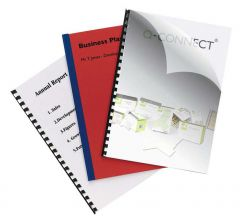 Binding Covers 250micron A4 Pack of 100
