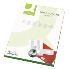 Laser & Inkjet Labels 8 per Sheet - 100 sheets