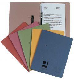 Transfer File Foolscap/A4 35mm Capacity Orange
