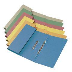 Transfer Pocket File Foolscap 35mm Capacity Blue