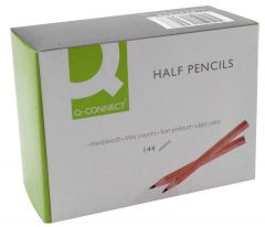Q-Connect Half Pencil Pk144