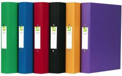 2-Ring Binder A4 Polypropylene Assorted Box 10's