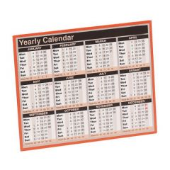 Year To View Calendar 2020