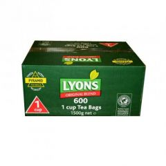 Lyons Tea 1 Cup Pack 600