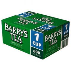 Barry's Green Label Tea 1 Cup Pack 600