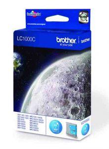 LC1000C Brother Inkjet Cartridge Refill Ink Cyan LC1000