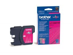 LC1100HYM Brother High Yield Inkjet Cartridge Refill Ink Magenta LC1100