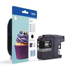 LC123BK Brother Inkjet Cartridge Refill Ink Black LC123