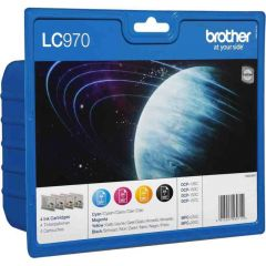 LC970 Brother Inkjet Cartridge Set LC970VALBP