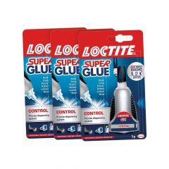 Loctite Super Glue Control 3g 3 For The Price of 2