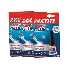 Loctite Super Glue Precision 5g 3 For The Price of 2