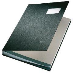 Black Signature Book by Leitz