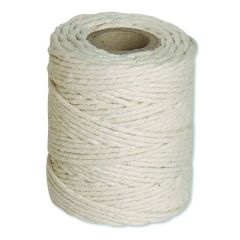 Flexocare White Cotton Twine 500gm Pk6