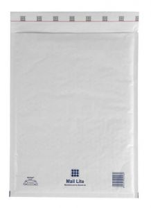 Padded Envelope White 180x260mm MLW D/1 Pk 100
