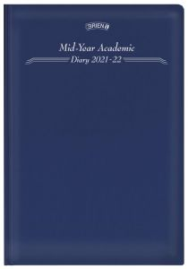 Obrien A5 Page a Day - Mid-Year Academic Diary 2021/22