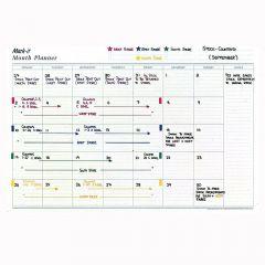 Mark-it Reusable Month Planner