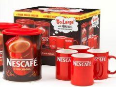 Nescafe Original Instant Coffee 750g Buy 2 Get 4 FREE Mugs
