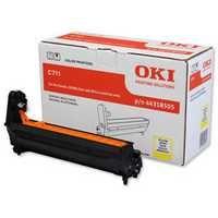Oki C711 Image Drum 20K Yellow 44318505 44318505