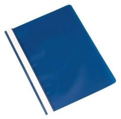 Q Connect Project Folder A4 Blue Pack of 25