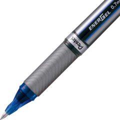 Pentel Energel Plus Metal Tip Blue Box 12