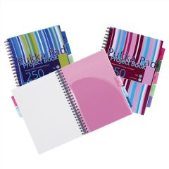 Pukka Pad Project Book A5 Pack of 3 250 Pages Ruled Feint