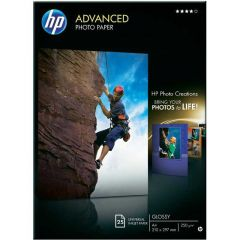 HP Advanced Glossy Photo Paper 250gsm A4 Pack of 25 Q5456A