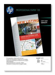 Q6594A HP Matt Inkjet Paper A3 100 Sheets