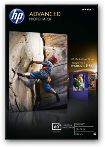 HP Advanced Photo Paper 250gsm 10x15cm Pk60
