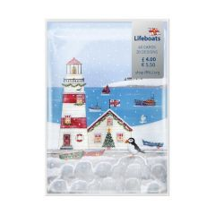 Variety Box RNLI Christmas Cards Pk 40