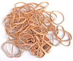 Rubber Bands 500gm No 19 - 88.9 x 1.6mm