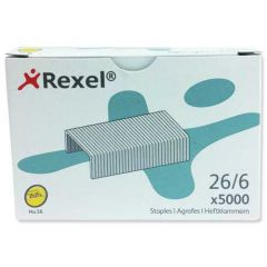 Rexel Staples No56 6mm Pack of 5000 06025
