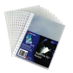 Rexel Pocket A5 Superfine Pack 20