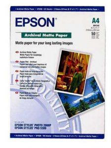 S041342 Epson Matt 192gsm A4 50 Sheets