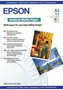 S041344 Epson Matt 192gsm A3 50 Sheets