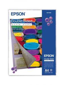 S041569 Epson Matt 2 Sided 167gsm A4 50 Sheets